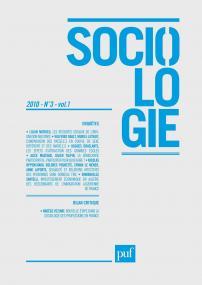 Sociologie 2010, n° 3