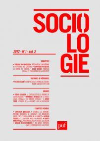 Sociologie 2012, n° 1