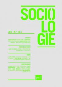 Sociologie 2012, n° 2