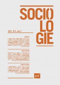 Sociologie 2012, n° 4