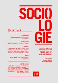 Sociologie 2014, n° 1