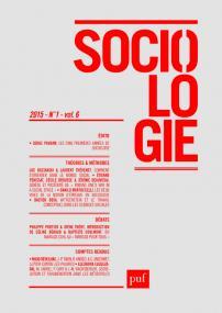 Sociologie 2015, n° 1