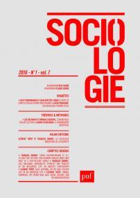 Sociologie 2016, n° 1