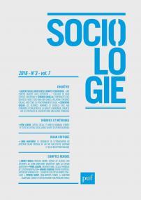 Sociologie 2016, n° 3