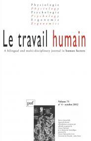 travail humain 2012- vol. 75 (4)