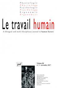 travail humain 2017, vol. 80 (3)