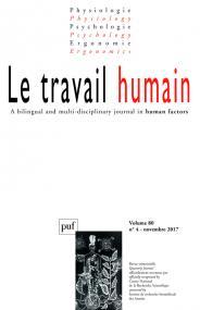 travail humain 2017, vol. 80 (4)