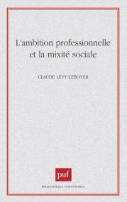 Ambition prof. Mobilité sociale