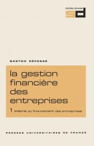 Gestion financière des entreprises