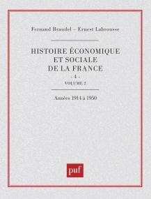 Hist eco. soc. fran. 1914-1950 - tome 4 v.2