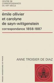 Émile Ollivier et Carolyne de Sayn-Wittgenstein