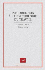 introduction à la psychologie du travail
