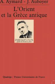 L'Orient et la Grèce antique