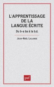Apprentissage de la langue écrite