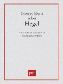 Droit et liberté selon Hegel