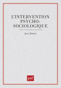 L'intervention psychosociologique