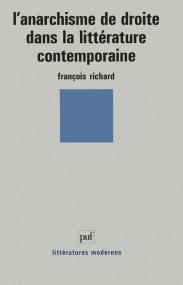 L'anarchisme de droite dans la littérature contemporaine