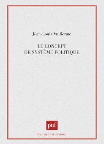 Le concept de système politique
