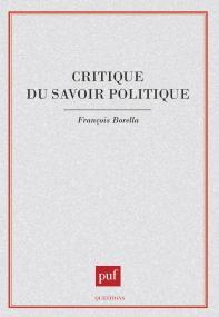 Critique du savoir politique