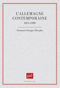 Allemagne contemporaine 1815-1990