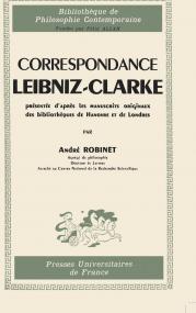 Correspondance Leibniz-Clarke, présentée d'après les manuscrits originaux des bibliothèques de Hanov