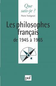 Les philosophes français de 1945 à 1965