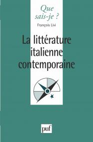 La littérature italienne contemporaine
