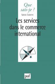 Les services dans le commerce international