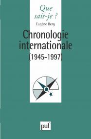 Chronologie internationale 1945-1995