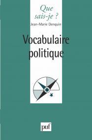 Vocabulaire politique