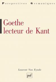 Goethe lecteur de Kant