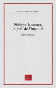 Philippe Jaccottet, le pari de l'inactuel