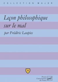 Leçon philosophique sur le mal