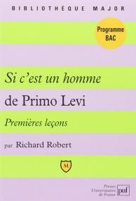 Premières leçons sur « Si c'est un homme » de Primo Levi