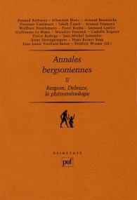 Annales bergsoniennes, II