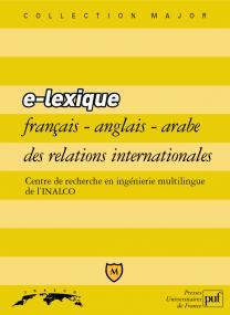 e-lexique français-anglais-arabe des relations internationales