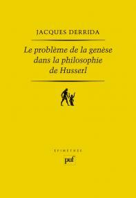 Le problème de la genèse dans la philosophie de Husserl