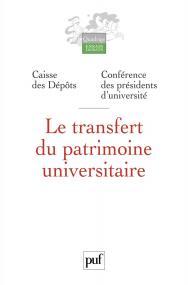 Le transfert du patrimoine universitaire