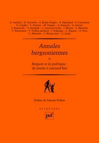 Annales bergsoniennes, V