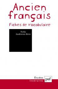 Ancien français. Fiches de vocabulaire