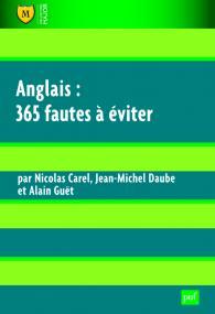 Anglais : 365 fautes à éviter