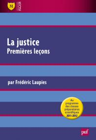 La justice. Premières leçons