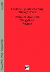 Cours de droit civil. Obligations. Régime