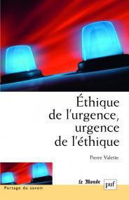 Éthique de l'urgence, urgence de l'éthique