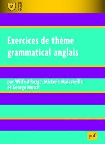Exercices de thème grammatical anglais