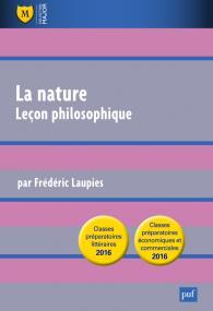 La nature. Leçon philosophique