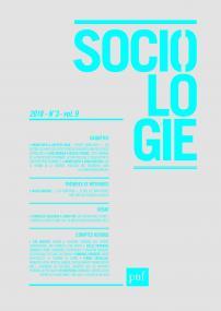 Sociologie 2018, n° 3
