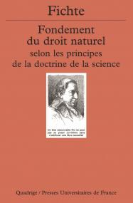 Fondement du droit naturel selon les principes de la doctrine de la science