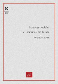 Sciences sociales et sciences de la vie