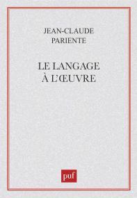 Le langage à l'œuvre